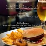Nith Hotel New Burger Menu