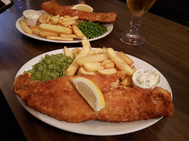Lunchtime Fish & Chips at The Nith Hotel, Dumfries