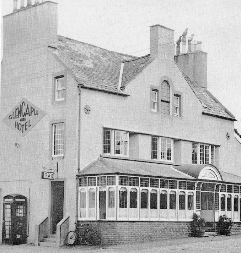 The Nith Hotel, Glencaple, date unknown.